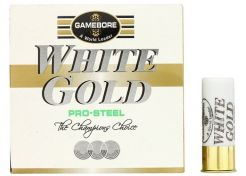 Shotgun Ammo Gamebore White Gold Pro Steel 12-70-7 24 grams