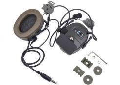 Headset Z-Tactical Comtac I met Fast aansluiting Green