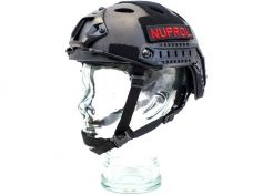 Helm Nuprol Fast Railed Black