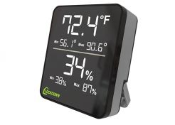 Hygrometer Lockdown Digital