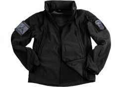 Jas 101 Inc. Soft Shell Tactical Black