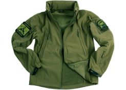Jas 101 Inc. Soft Shell Tactical Green