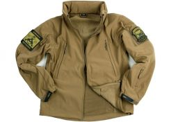 Jas 101 Inc. Soft Shell Tactical Khaki