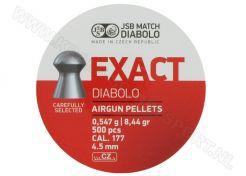 Luchtdrukkogeltjes JSB Exact Diabolo 4.5 mm 8.44 grain