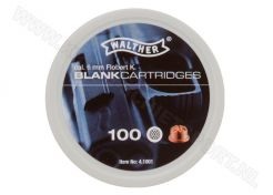 Blank cartridges Walther 6 mm Blank