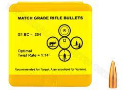 Kogelkoppen Berger Target .224 FB 55 grain