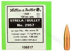 Kogelkoppen Sellier & Bellot .308 FMJ 180 grain