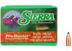 Kogelkoppen Sierra Pro Hunter .308 SPT 125 grain
