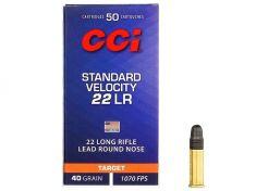 Kogelpatronen CCI Standard Velocity .22 LR RN 40 Grain