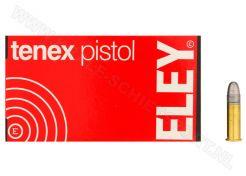 Kogelpatronen Eley Tenex Pistol .22 LR RN 40 grain