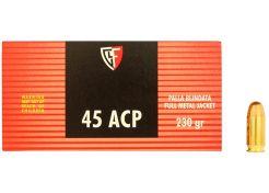 Kogelpatronen Fiocchi .45 ACP FMJ 230 grain