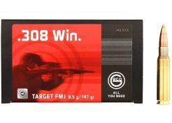 Ammunition Geco Target .308 Win FMJ 147 grain