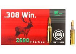 Kogelpatronen Geco Zero .308 Win 136 grain