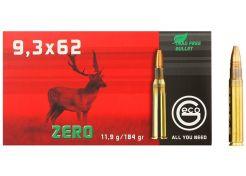 Ammunition Geco Zero 9.3x62 mm 184 grain