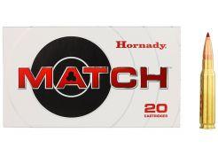 Kogelpatronen Hornady .308 Win ELD Match 168 grain