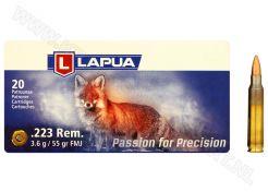 Kogelpatronen Lapua .223 Rem FMJ 55 grain
