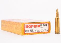 Kogelpatronen Norma 250 Sav. 87 grain SP (10 stuks)