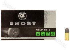 Ammunition RWS Short .22 RN 29 grain