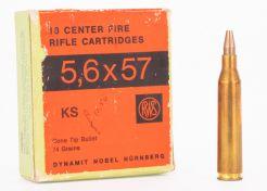 Ammunition RWS 5.6x57R 74 grain KS SP (26 pcs)