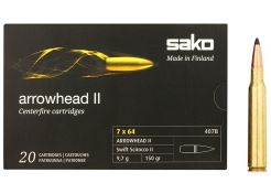 Kogelpatronen Sako Arrowhead II 7x64 mm Swift Scirocco II 150 grain