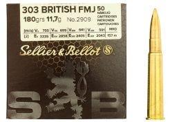 Kogelpatronen Sellier & Bellot .303 Brit FMJ 180 grain