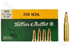 Kogelpatronen Sellier & Bellot .308 Win SPCE 150 grain