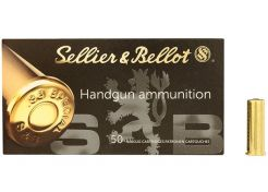 Kogelpatronen Sellier & Bellot .38 Spec WC 148 grain