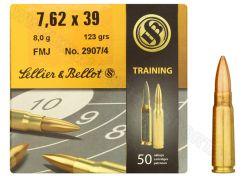 Kogelpatronen Sellier & Bellot 7.62x39 FMJ 123 grain