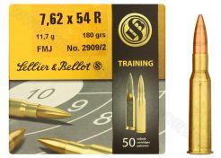 Kogelpatronen Sellier & Bellot 7.62x54R FMJ 180 grain