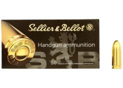 Kogelpatronen Sellier & Bellot 9 mm FMJ 115 grain