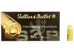 Ammunition Sellier & Bellot Subsonic 9 mm FMJ 140 grain