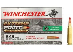 Kogelpatronen Winchester Extreme Point Lead Free .243 Win 85 grain