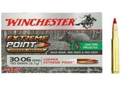 Kogelpatronen Winchester Extreme Point Lead Free .30-06 Sprfd 150 grain