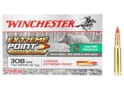 Kogelpatronen Winchester Extreme Point Lead Free .308 Win 150 grain