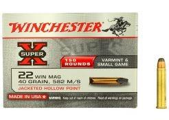 Kogelpatronen Winchester Super X .22 WMR JHP 40 grain