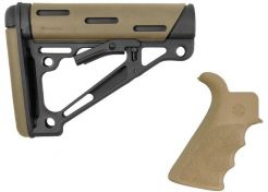 Stock Hogue AR15 OMCB Mil-Spec with grip FDE