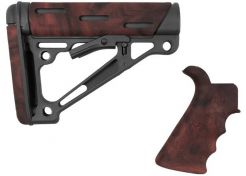 Kolf Hogue AR15 OMCB Mil-Spec met grip Red Lava