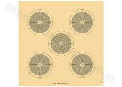 Precision rifle target 100 meter Training 2020N