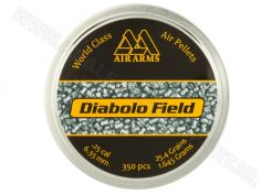 Luchtdrukkogeltjes Air Arms Diabolo Field 6.35 mm 25.4 grain