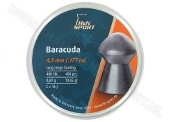 Luchtdrukkogeltjes H&N Baracuda 4.5 mm 10.65 grain
