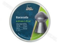 Luchtdrukkogeltjes H&N Baracuda 6.35 mm 30.86 grain
