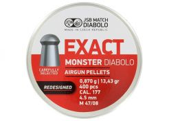 Luchtdrukkogeltjes JSB Exact Monster Redesigned 4.52 mm 13.43 grain