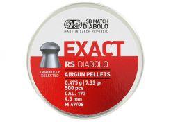 Luchtdrukkogeltjes JSB Exact RS 4.52 mm 7.33 grain
