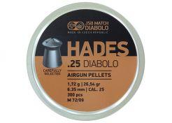 Luchtdrukkogeltjes JSB Hades 6.35 mm 26.54 grain