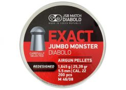 Luchtdrukkogeltjes JSB Monster Redesigned 5.52 mm 25.39 grain