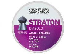 Luchtdrukkogeltjes JSB Straton 4.5 mm 8.26 grain