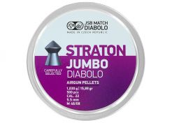 Luchtdrukkogeltjes JSB Straton Jumbo 5.5 mm 15.89 grain