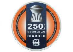 Luchtdrukkogeltjes Mikx Bolkop Diabolo 5.5 mm 14.5 grain