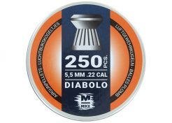 Luchtdrukkogeltjes Mikx Platkop Diabolo 5.5 mm 13.2 grain