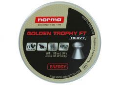 Airgun Pellets Norma Golden Trophy FT Heavy 5.5 mm 17.6 grain